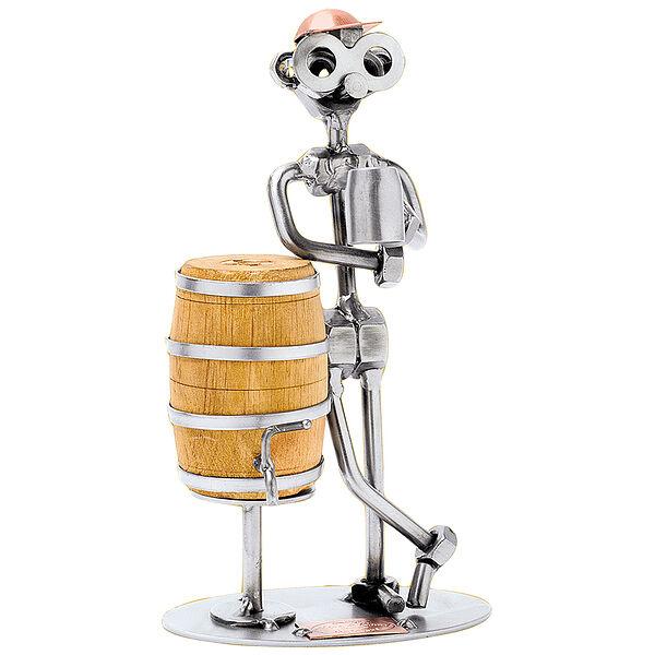 Schraubenmännchen - Mann mit Bierfass
