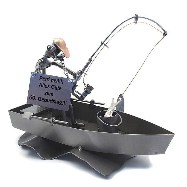 Screw Figure Angler In Boat G2305 708038219592 Ebay