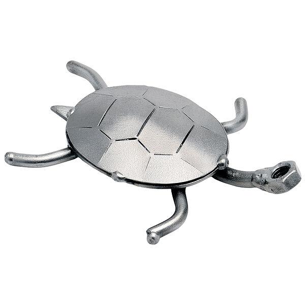 Metallfigur Schildkröte