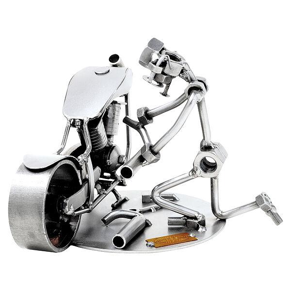 Schraubenmännchen Motorradmechaniker