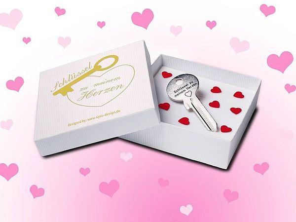 - Romantische Geschenkidee Schlüssel zu meinem Herzen - Onlineshop 1a Geschenkeshop