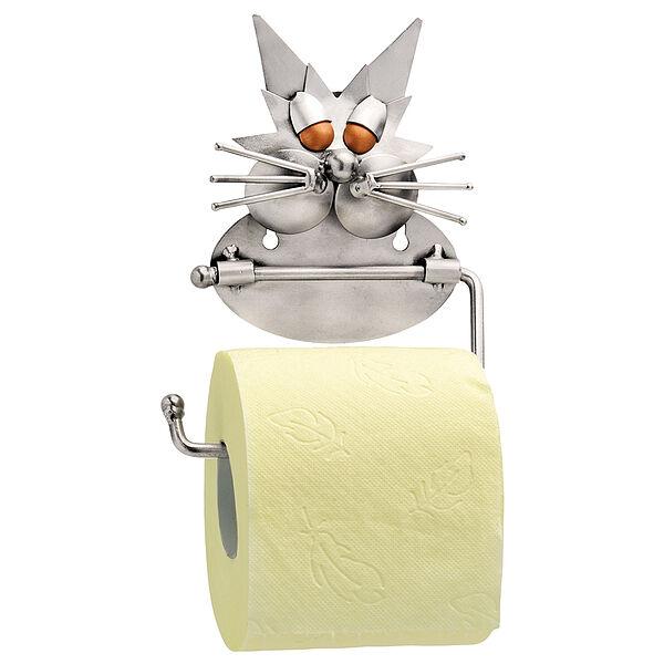 Image of Toilettenpapierhalter im Design einer Katze