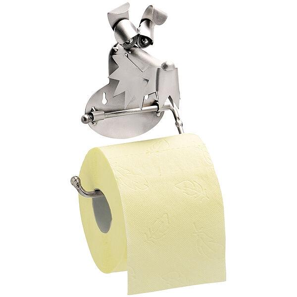 Image of Toilettenpapierhalter Hund aus Metall