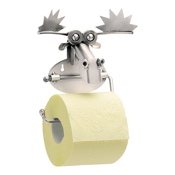 Image of Toilettenpapierhalter Elch aus Metall
