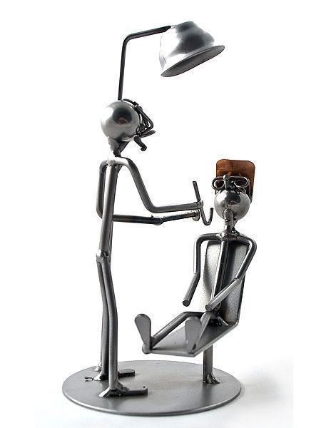 Schraubenmännchen Zahnarzt - Wired Line