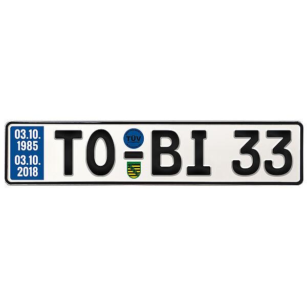 Geschenk zum 33. Geburtstag Geburtstagsgeschenk Schild mit TÜV