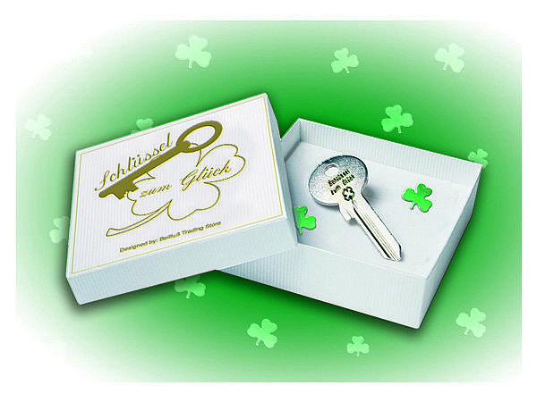 Ultimative Geschenkidee Schlüssel zum Glück