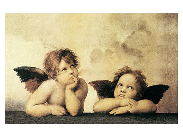 Fußmatte Engel