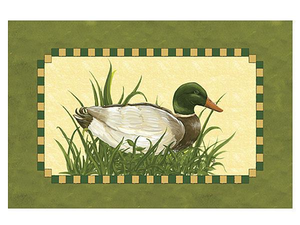 Fußmatte mit Tiermotiv Ente