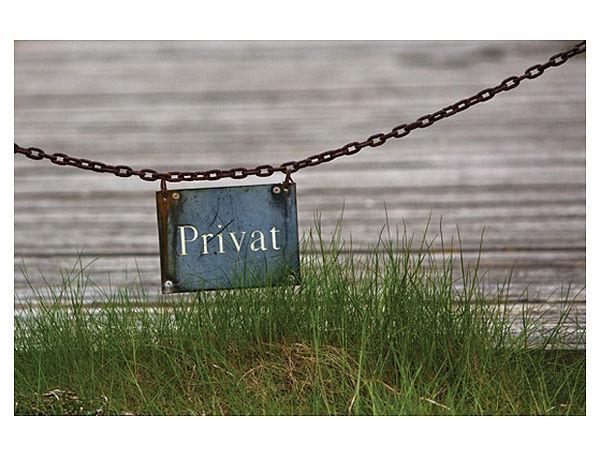 Fußmatte Privat