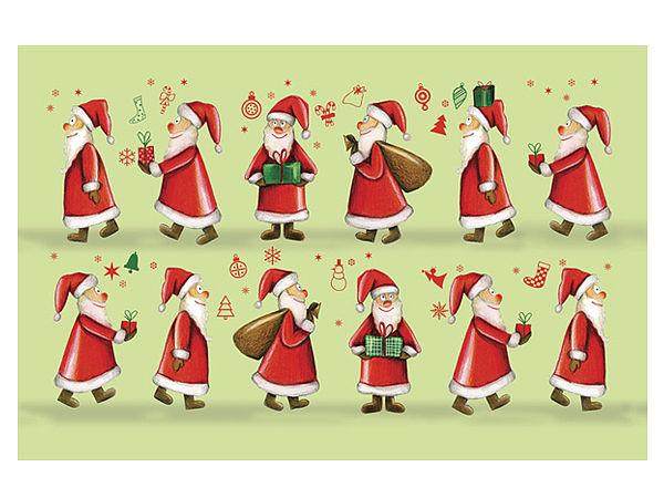 Fußmatte Weihnachtsmänner