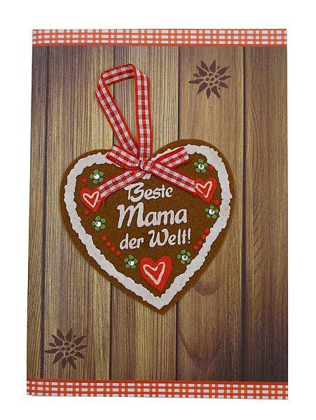 Klappkarte als Grußkarte für die beste Mama mit Briefumschlag