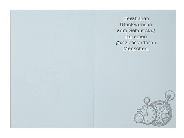 Briefumschlag Beschriften Zum Geburtstag : Geburtstagskarte zeit zum geburtstag mit briefumschlag