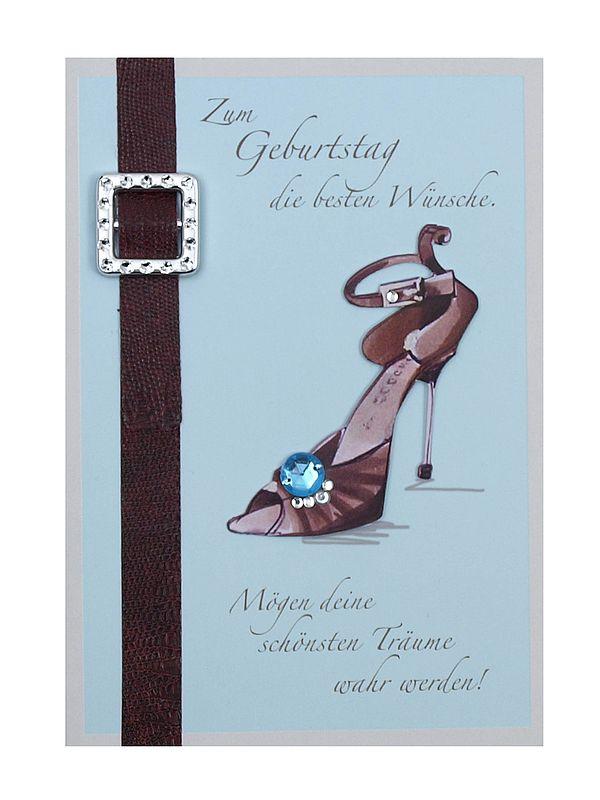 Grußkarte zum Geburtstag mit Briefumschlag