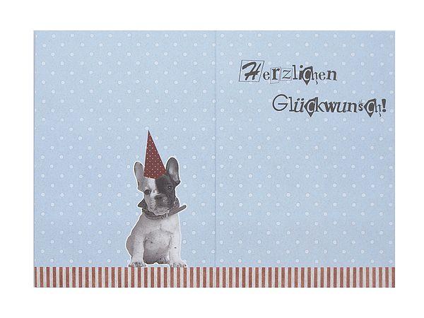 Geburtstagskarte mit hund zum geburtstag online - Geschenkeshop online ...