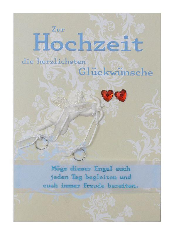 Grußkarte Zur Hochzeit die herzlichsten Glückwünsche