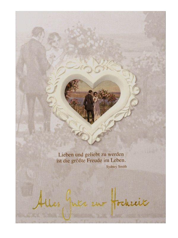 Grußkarte - Alles Gute zur Hochzeit