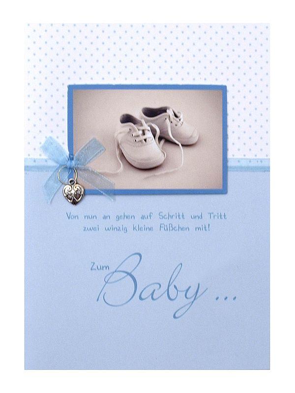 Grußkarte als Glückwunsch zur Geburt