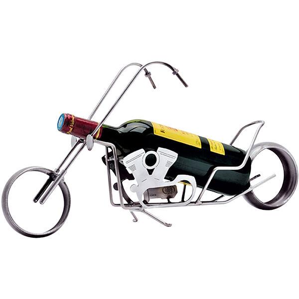 Weinflaschenhalter Motorrad
