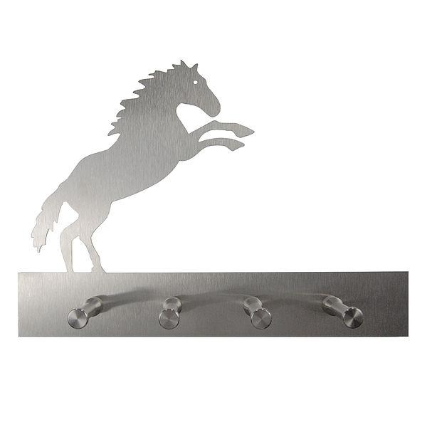 Pferdegarderobe aus Edelstahl
