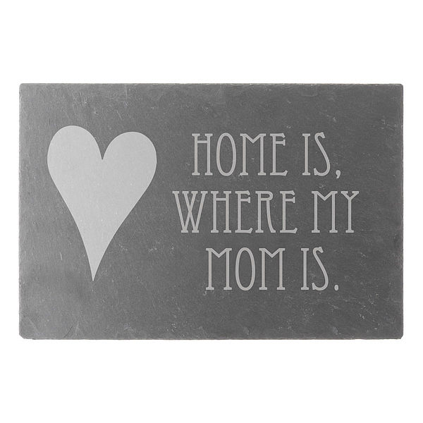 Schild ´´Home is, where my Mom is.´´ 300 x 200 ...