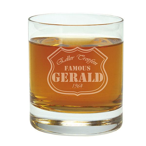 geschenk zum geburtstag trinkglas mit gravur g6035 ebay. Black Bedroom Furniture Sets. Home Design Ideas