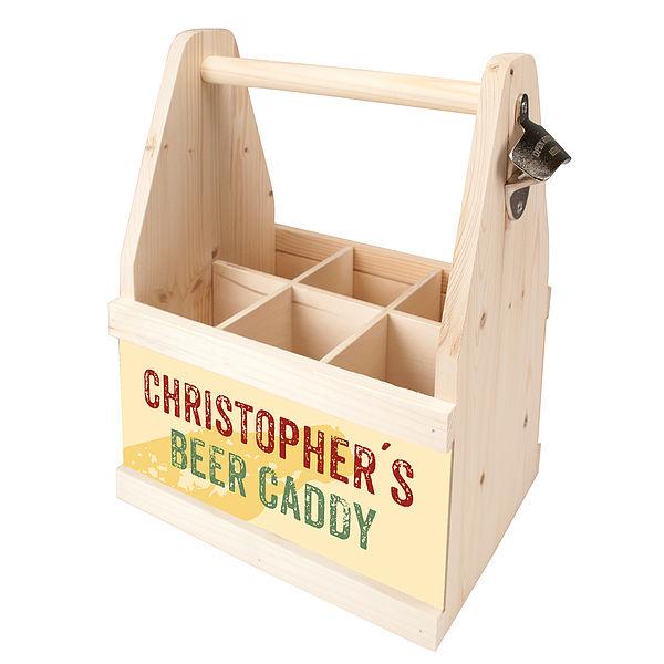 Beer Caddy - ein Geschenk für Männer