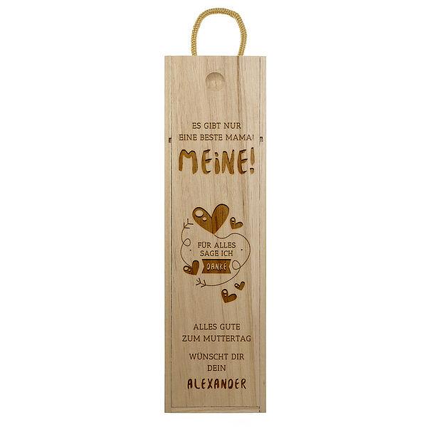 Geschenk für die Mutter - Weinbox Design 2