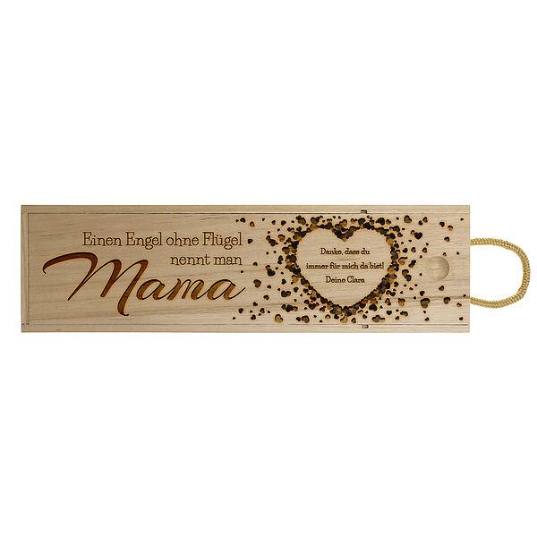 Weinbox mit Gravur für die Mama Design 4