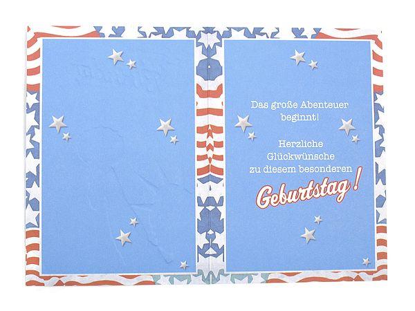 Geburtstagskarte Zum 18 Geburtstag Mit Briefumschlag Online