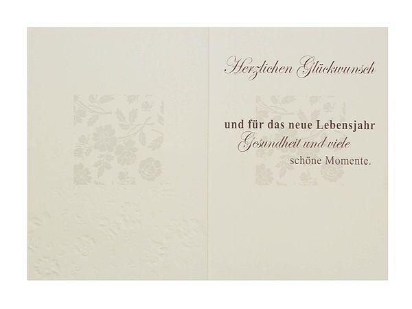 Briefumschlag Beschriften Zum Geburtstag : Geburtstagskarte zum geburtstag mit briefumschlag