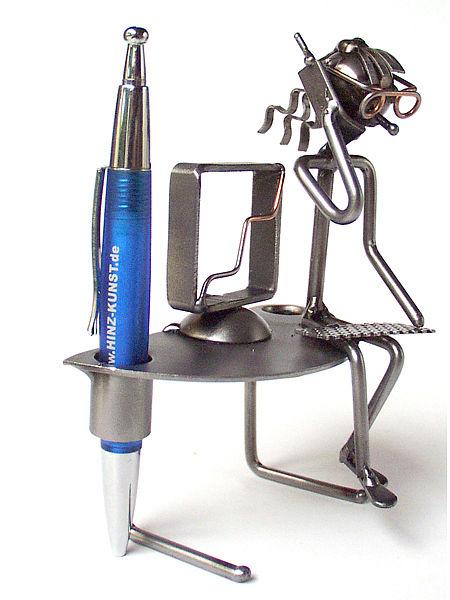 metallmann stiftehalter f r den schreibtisch wired line online. Black Bedroom Furniture Sets. Home Design Ideas