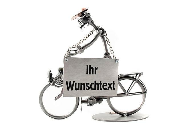 Schraubenm nnchen mit fahrrad oder mofa online - Geschenkeshop online ...