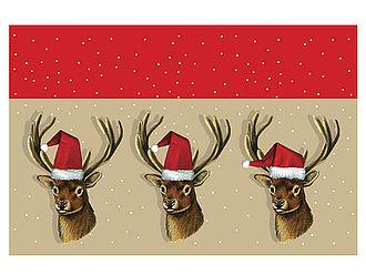 Fu matte weihnachtshirsche online geschenkeshop mit for Weihnachtshirsch deko