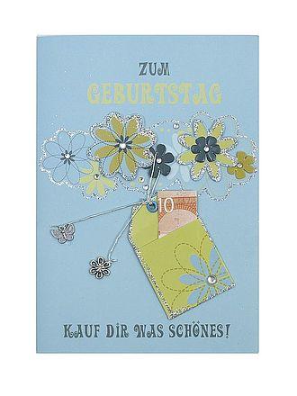 Geburtstagskarte Fur Geldgeschenke Zum Geburtstag Mit Briefumschlag