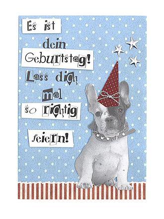 Glückwünsche Zum Geburtstaghund Alles Liebe
