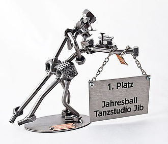 Metallfiguren Tänzer