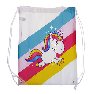 Fashion-Beutel im Einhorn Look rainbow