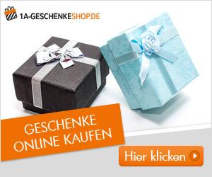 Geschenke für jeden Anlass bei 1AGeschenkeshop.de im Online Shop
